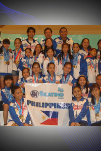 SM Ice Skating Philippine Team at Skate Asia 2010 Competition held last August 8-15 at Hangzhou China.