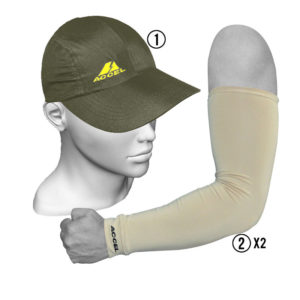 SPORT SLEEVES AND SPORTS CAP (ARMY)