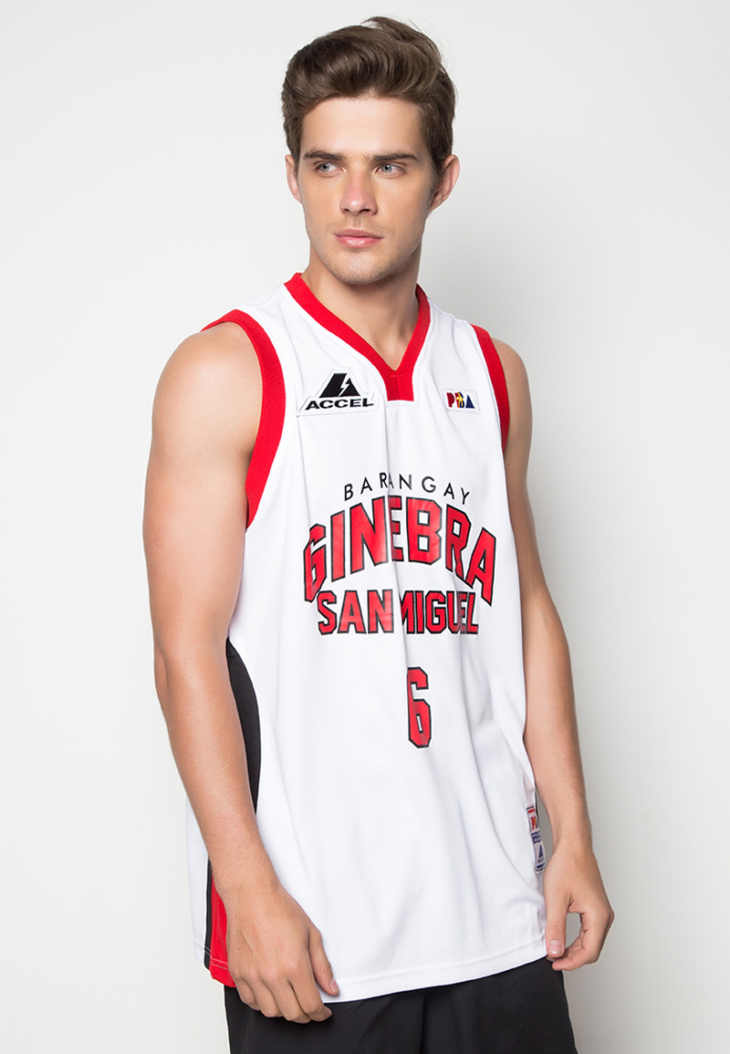 12aacbcec PBA GINEBRA JERSEY THOMPSON 6 – HOME