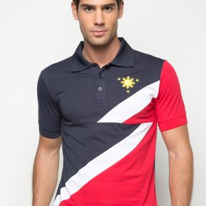 MY PHILIPPINE COLORS POLO SHIRT
