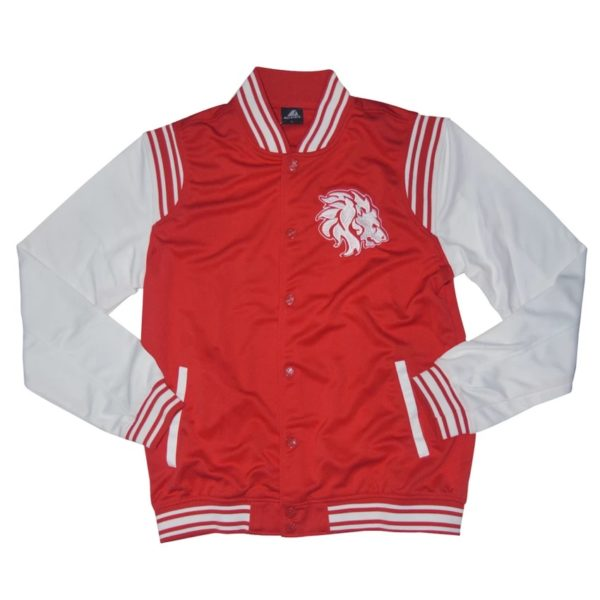 LIONS MEN'S ICONIC VARSITY JACKET