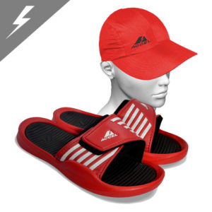 ARENA IV SPORTS SANDALS AND SPORTS CAP